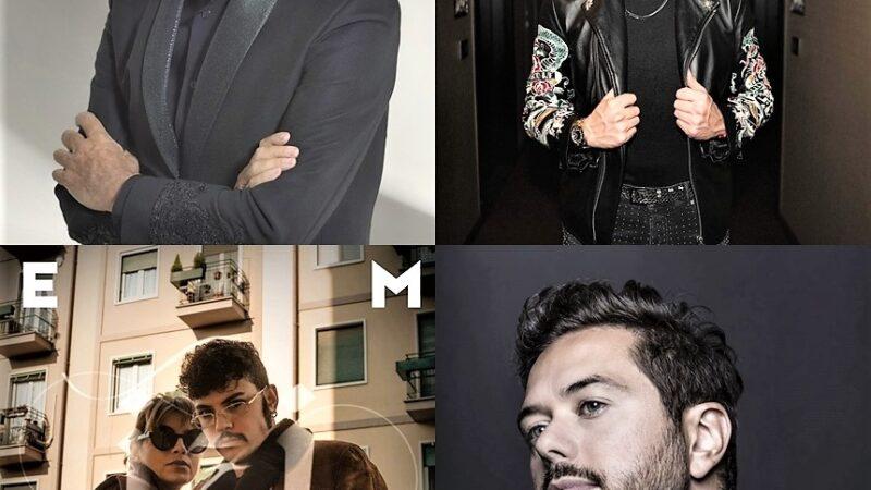Musica Italia: Baglioni, Shade, Emma, Didio