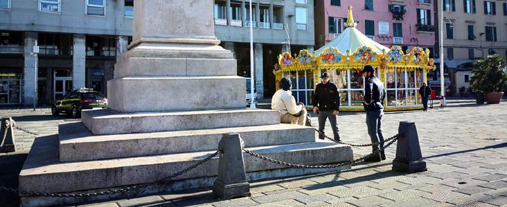 Centro storico Genova: 157 controlli, 6 denunciati, 1 locale sanzionato