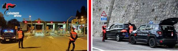 carabinieri imperia, cronaca
