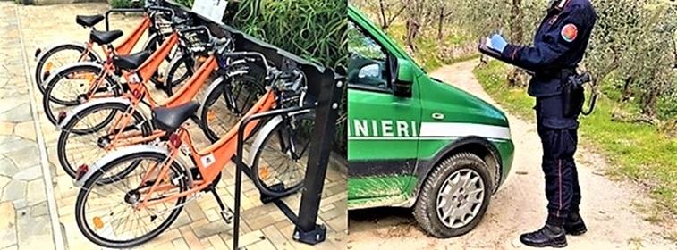 Sassello Beccati quattro ciclisti di Piampaludo che pedalavano alla Veirera, sanzionati
