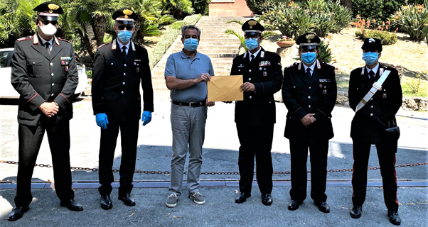 carabinieri imperia, asl1, solidarietà