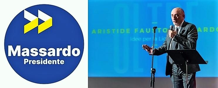 Aristide Fausto Massardo, ferruccio sansa, liguria elezioni, politica
