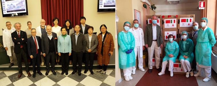 Università Pechino, Galliera, Associazione Thalassemici, solidarietà