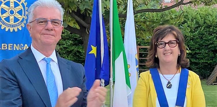 Anna Maria Rebuttato, Rotary Albenga, Claudio Dodero, attualità