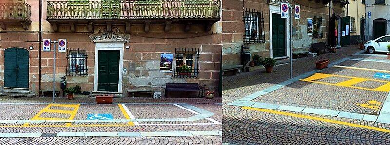 sassello centro storico, segnaletica stradale, sassello