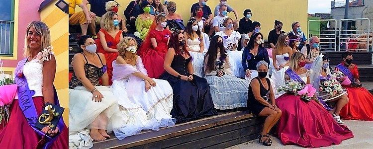 Miss Peagna, Barbara Silli, panchina rosa, peagna, spettacolo