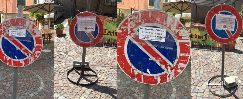 sassello, piazza concezioni, centro storico