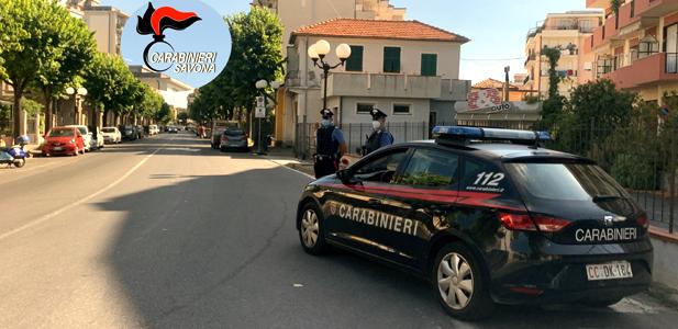 carabinieri albenga, cronaca, Pontelungo, Vadino