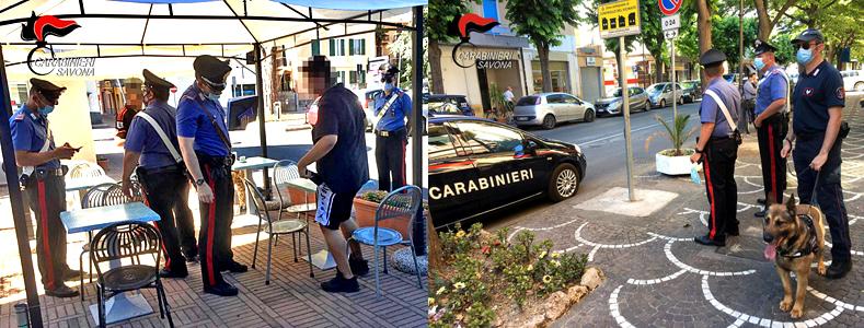 carabinieri savona, carabinieri albenga, Iacopo Vittorio Rossi, cronaca