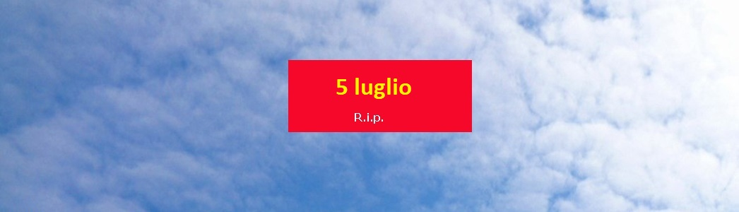 Coronavirus decessi ospedalieri 4/5 luglio, uno in Liguria, è nel savonese