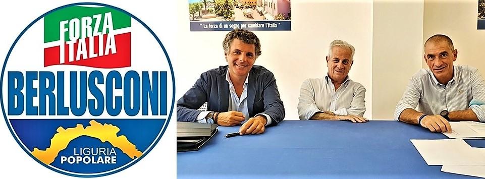 """Liguria elezioni. I candidati della lista unitaria """"Forza Italia – Liguria Popolare"""" con """"Polis"""""""