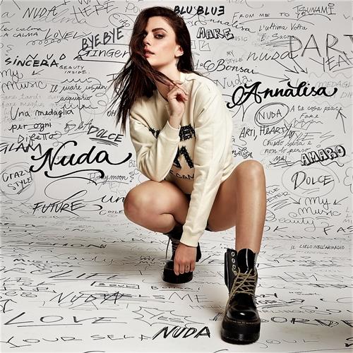 """Annalisa è """"Nuda"""", la cantante di Carcare (Savona) racconta i segreti del suo prossimo album in uscita il 18 settembre"""