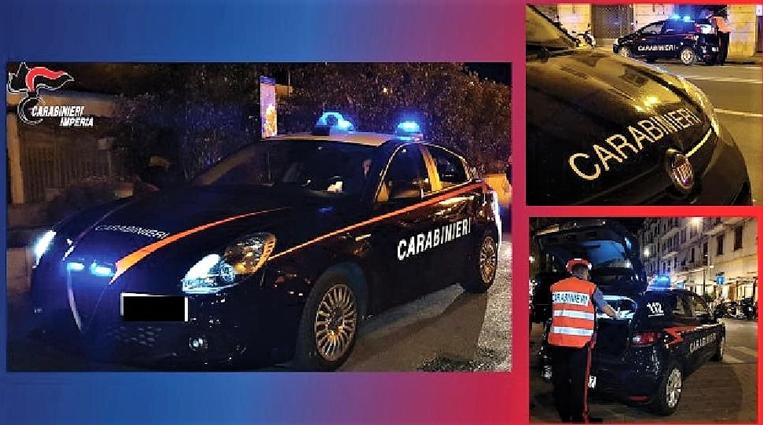 Movida Sanremo. Controlli notturni dei carabinieri: 103 persone controllate, un arresto e due denunce