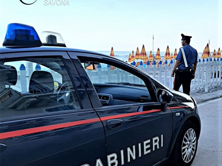 carabinieri varazze, furti cabine, cronaca