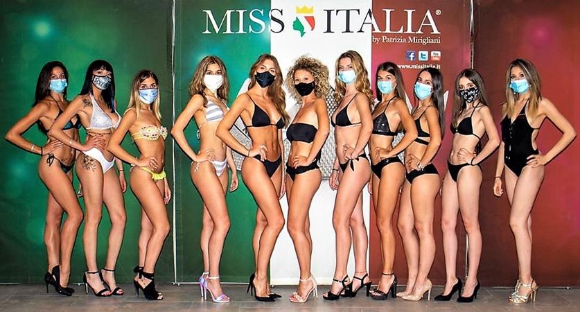 """Miss Italia: al primo casting """"dopo"""" covid anche Irene Chiodo di Acqui Terme"""