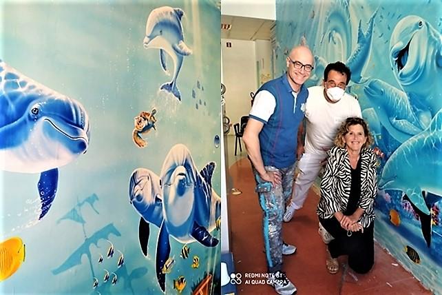 pediatria savona, san paolo savona, ospedali dipinti