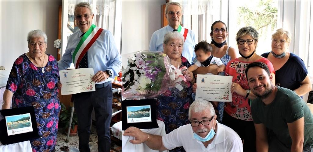 Ceriale ha una nuova centenaria: bisnonna Elena