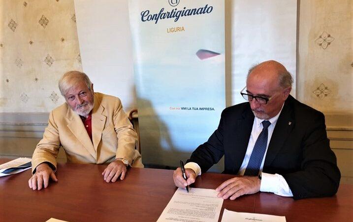 Liguria elezioni. Il candidato presidente Massardo primo a firmare le proposte Confartigianato
