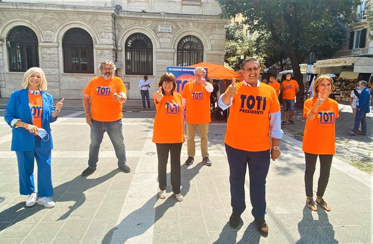 """Liguria elezioni. La Lista """"Toti Presidente"""", questi i candidati nel collegio savonese"""