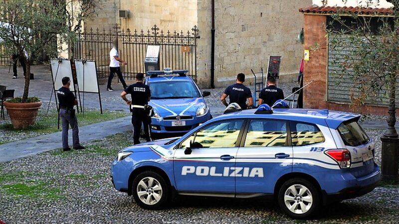 polizia genova, cronaca, furti distributori automatici