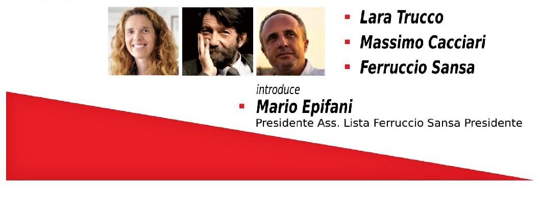 Liguria elezioni. Oggi incontro a Genova tra Cacciari e Sansa