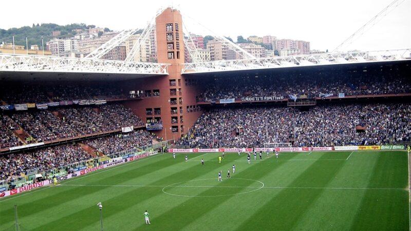 giovanni toti, dati covid, apertura stadi al pubblico, Genoa, Sampdoria, Spezia