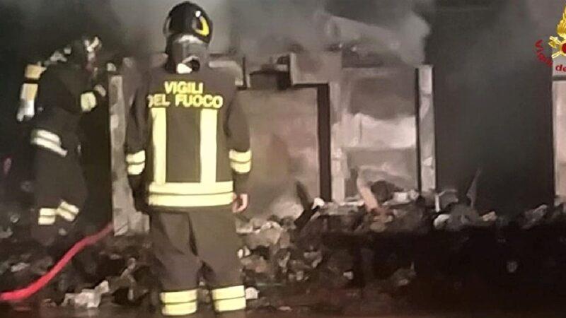 a12 incendio rupanegro, vigili del fuoco rapallo, cronaca