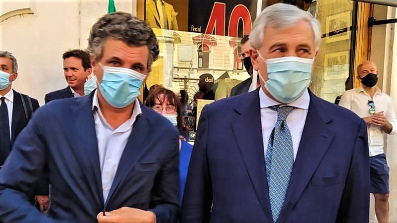 Liguria elezioni. Dopo Salvini il centrodestra cala un altro asso, Tajani di Forza Italia