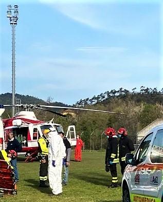 Sassello, scontro fra due automobili sulla SS334 verso frazione Maddalena