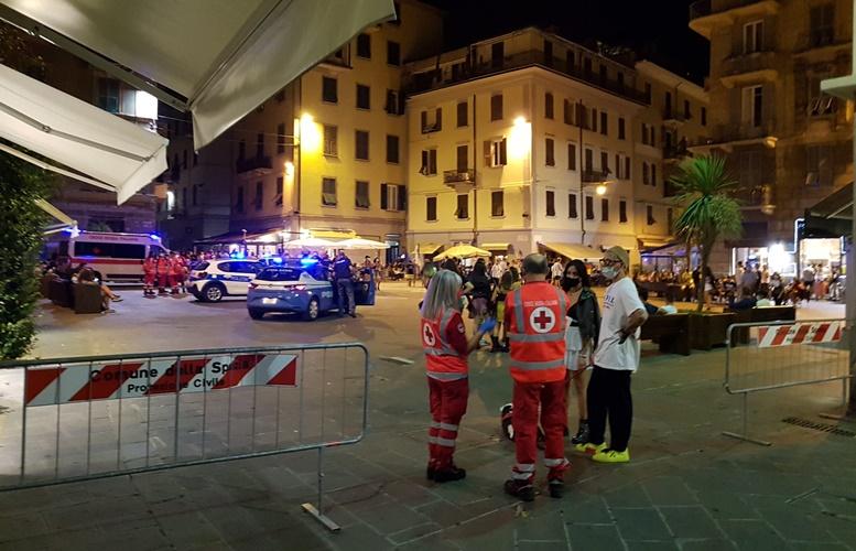 Covid cluster La Spezia: Polizia, Finanza, Polizia Municipale, Croce Rossa e volontari sulla movida