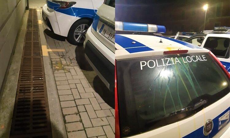 alassio cronaca, polizia municipale uova