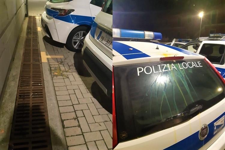 Dozzina di uova lanciate contro le autopattuglie della Polizia Municipale di Alassio