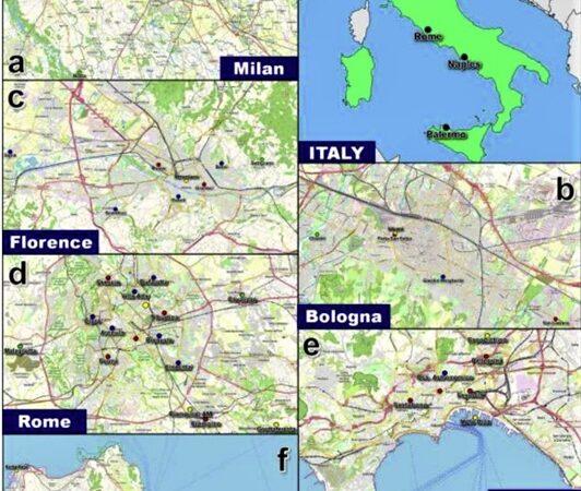 Italia Covid-19 inquinamento
