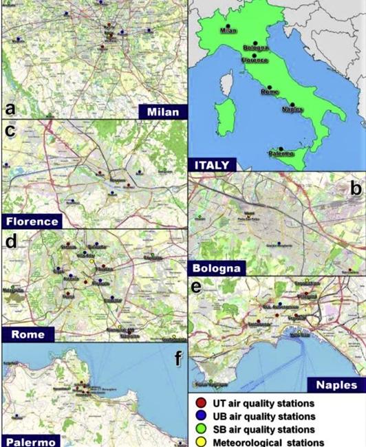 Italia Covid-19. L'inquinamento durante il lockdown
