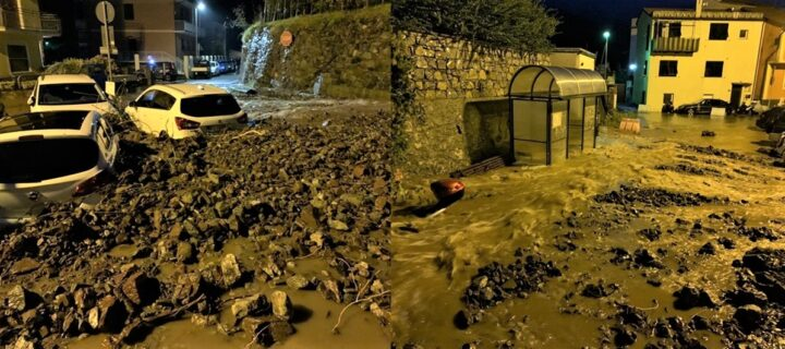 Maltempo in Liguria. Danni nel Levante, piogge intense fino a domani