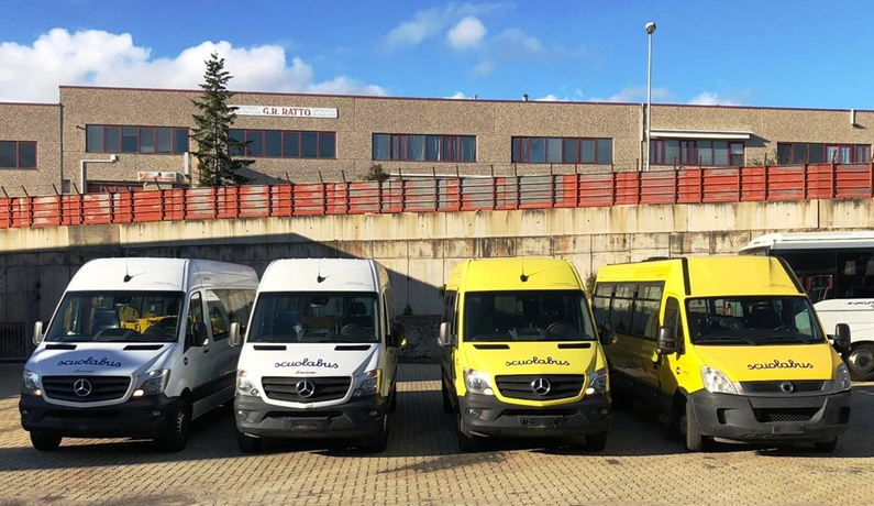 Trasporto scolastico Tpl Linea, sono arrivati quattro nuovi scuolabus