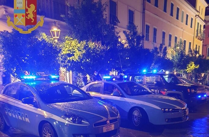 sarzana cronaca, polizia sarzana, poliziotto colpito
