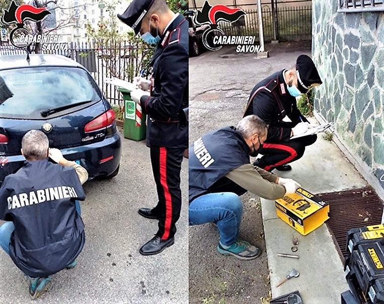 Furti Valbormida. Blitz dei carabinieri di Cairo Montenotte, sgominata banda di ladri