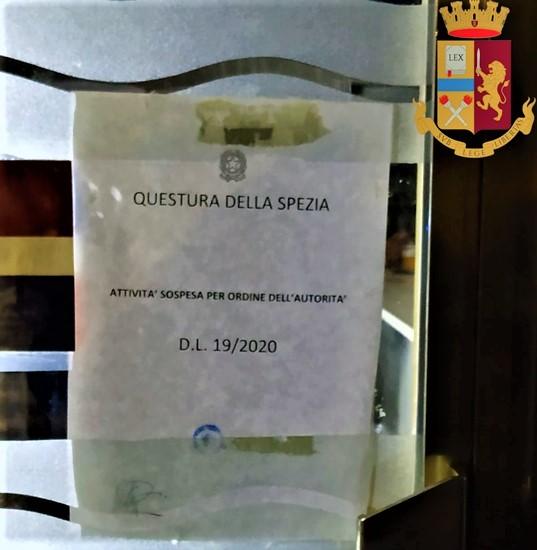 La Spezia Covid, chiuso un locale in corso Cavour per assembramento