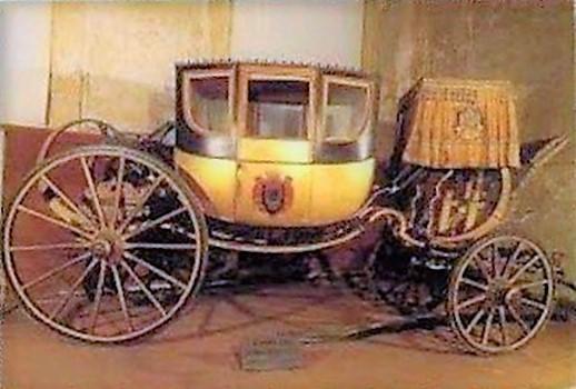 carrozza napoleone, ordine mauriziano