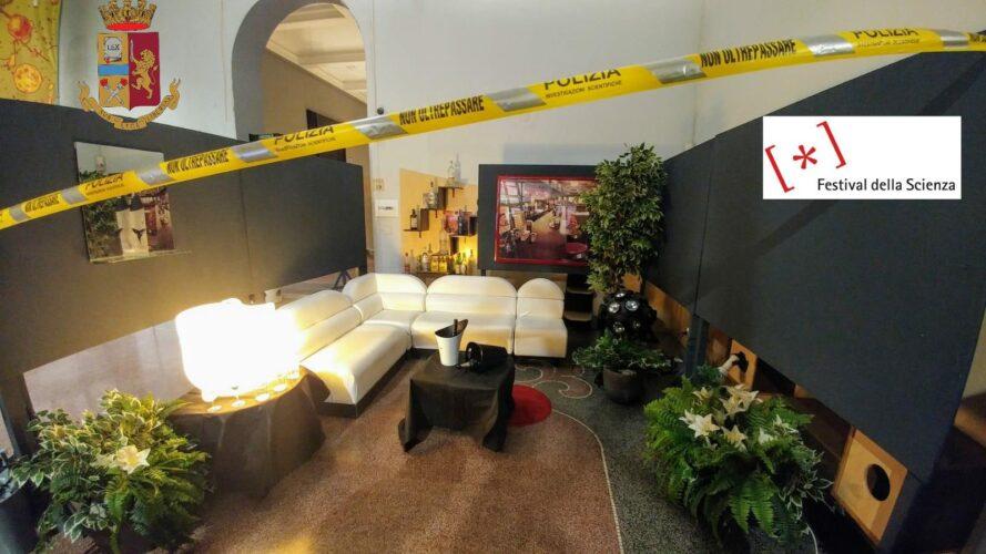 """Festival della Scienza Genova. Presente anche la Polizia Scientifica con """"Indizi luminosi"""" in 3D"""