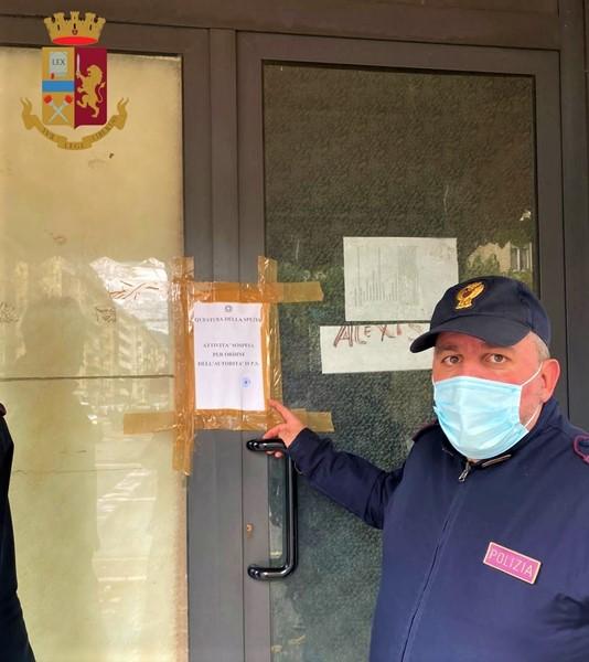 Chiuso 5 giorni un Circolo privato alla Spezia per inosservanze decreti anticontagio