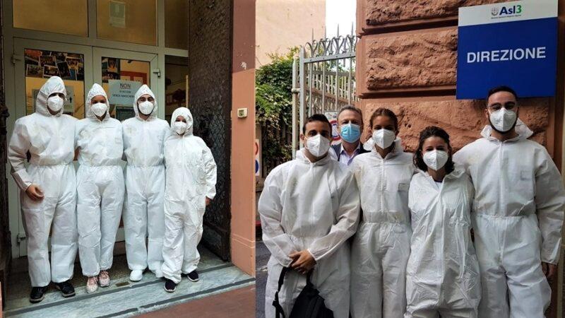 scuola tamponi studenti, asl3 genova, coronavirus scuola
