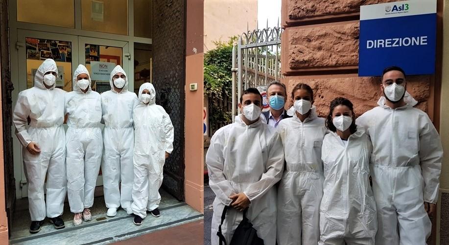 Asl3 Liguria, tamponi rapidi antigenici per 750 studenti e 90 insegnanti
