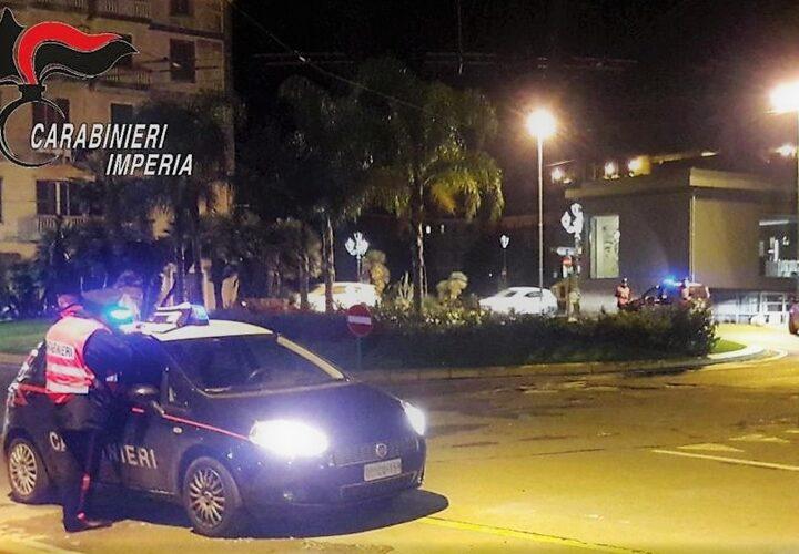 ventimiglia cronaca, carabinieri ventimiglia, incidente ubriaco