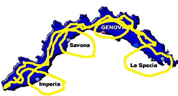 liguria covid, liguria zona gialla