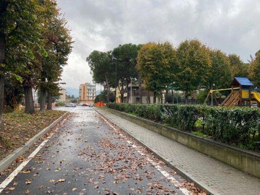 Albisola Superiore oggi a mezzogiorno apre l'allungamento di via Garibaldi