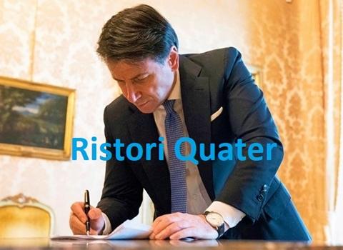 Decreto Ristori Quater di stanotte. Il Governo approva nuovo decreto per 8 miliardi