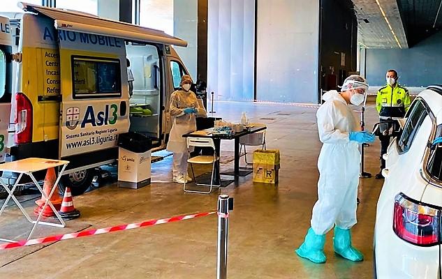 Coronavirus Liguria oggi 6 novembre, 1127 nuovi casi positivi, 671 cluster Genova, 163 Savona