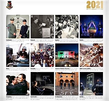 Il calendario della Polizia di Stato ora è anche online sul sito Unicef